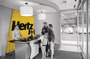 Hertz Car Rental available to Mario's Auto Body Customers